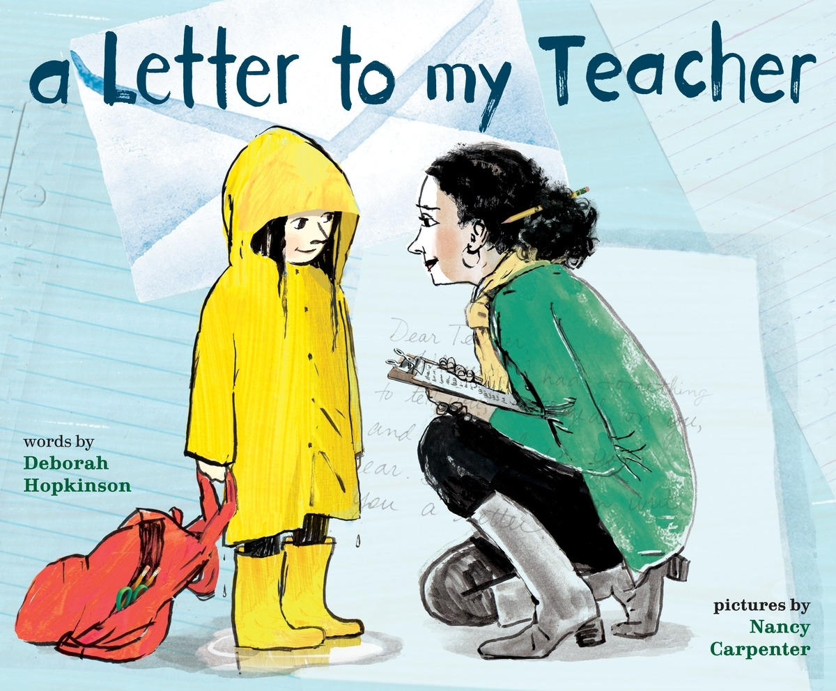Letter to My Teacher Cover