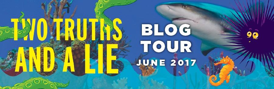 Two Truths and a Lie blog tour header