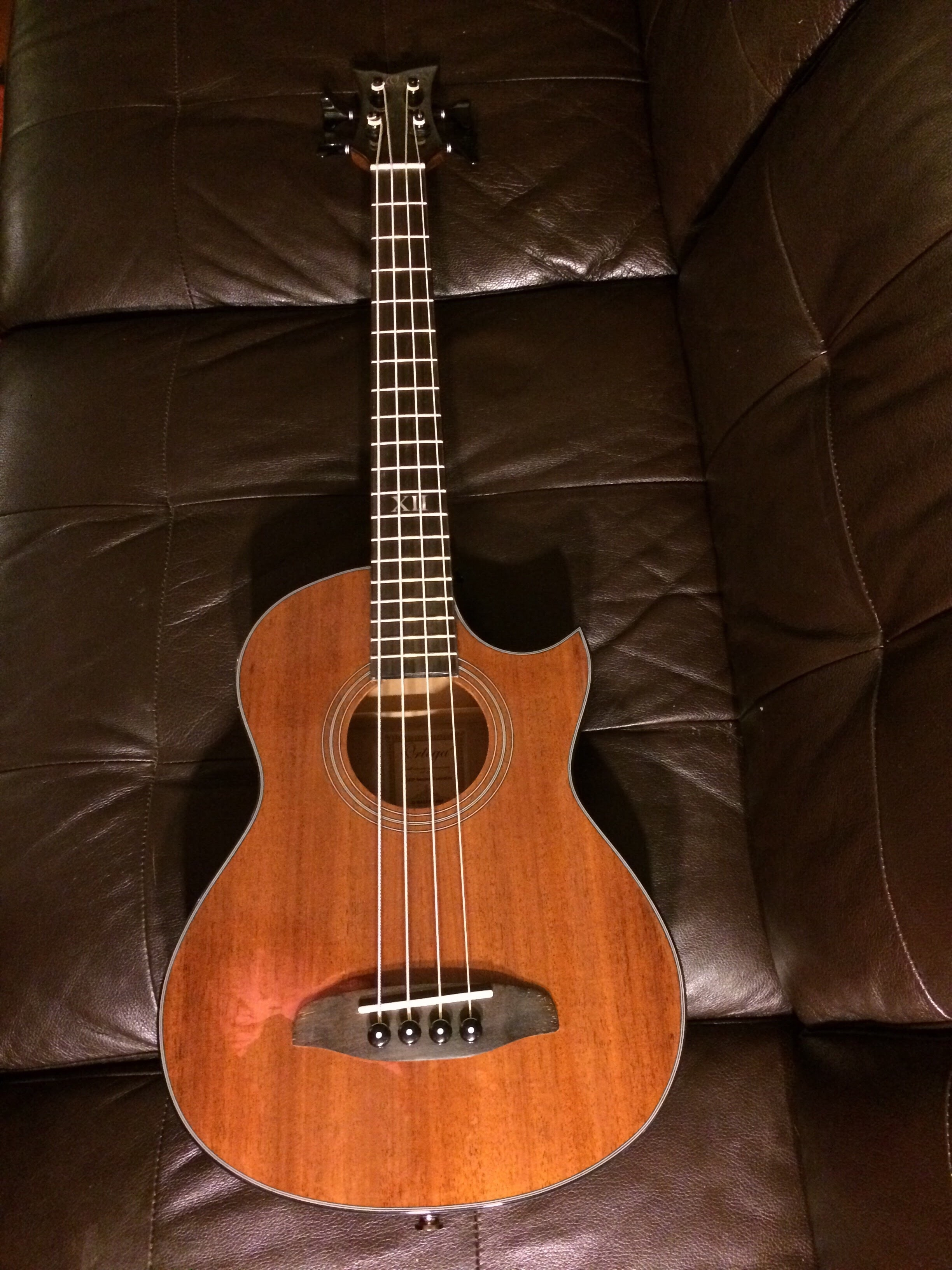 Ortega acoustic electric mini bass