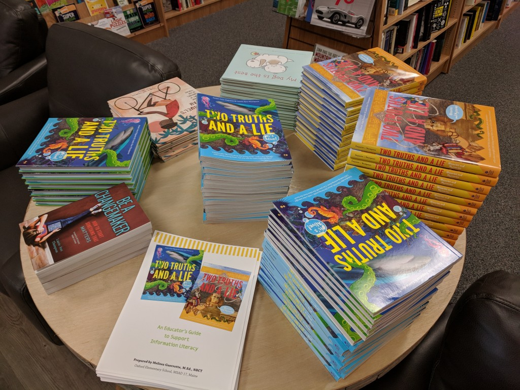 Bookstore table display