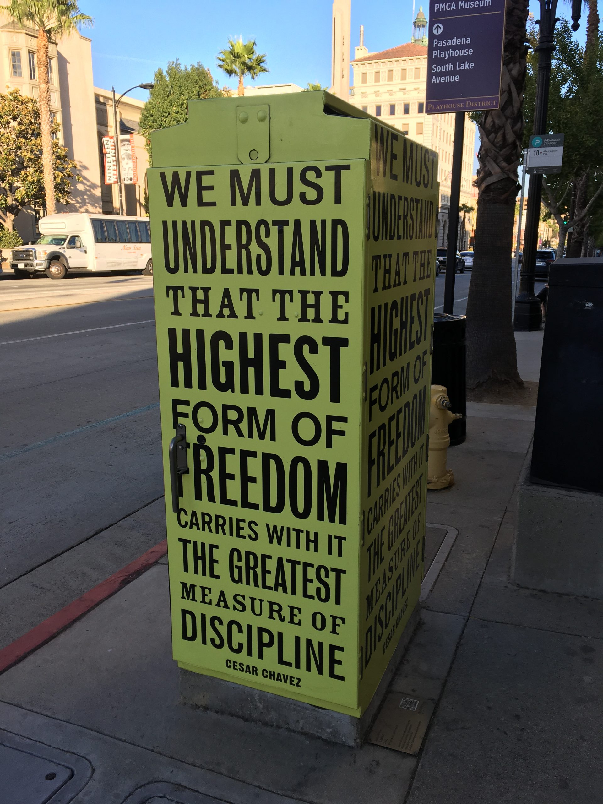 Quote on electrical box