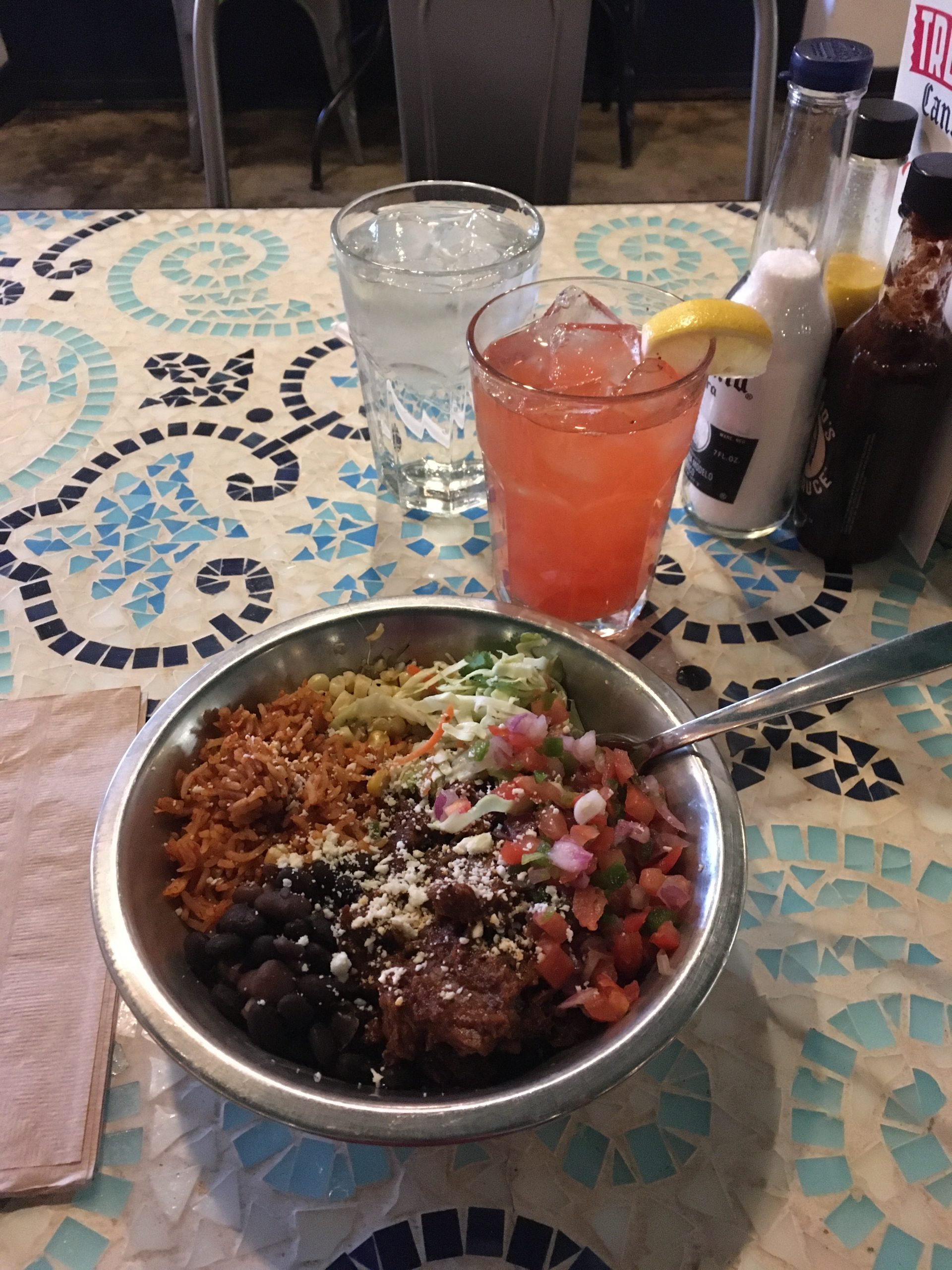 Mexican rice bowl