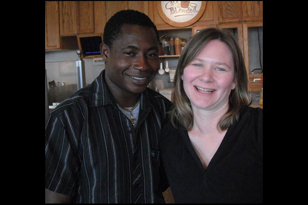Emmanuel Ofosu Yeboah and Laurie Ann Thompson